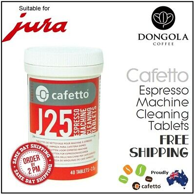 40 JURA J25 Super Automatic Espresso Coffee Machine Cleaner Cleaning Tablets