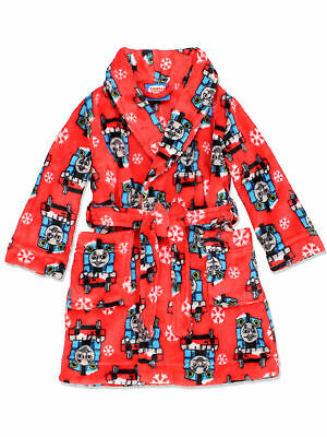 Thomas the Train and Friends Toddler Boys Fleece Bathrobe Robe 21TE169ERD
