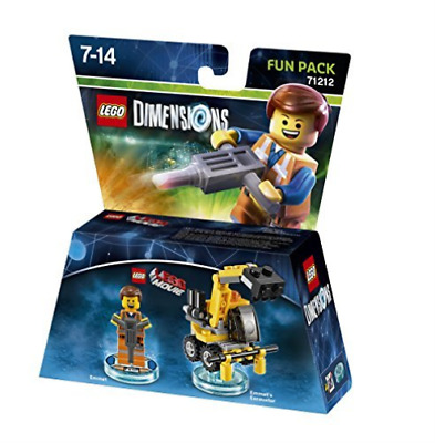 Toys-Lego Dimensions: Fun Pack - Lego Movie Emmet /Video Game Toy GAME NUEVO