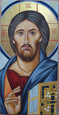 """""""Christ of Sina"""" Orthodox portable ,hand-painted byzantine icons"""