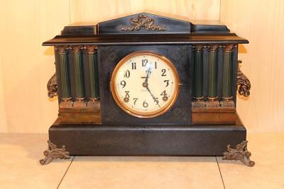 Majestic Antique Ingraham Mantle Clock ~Early 1900's~ *Nice*