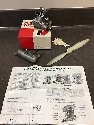O.S. Max 40 FP Series 13331 RC Model AIRCRAFT Plane Glow Fuel Engine