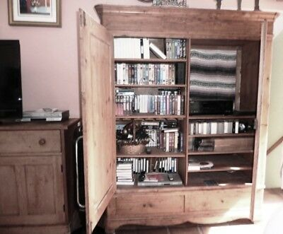 Armoire cabinet, antique, solid wood,cupboard,entertainment Unit