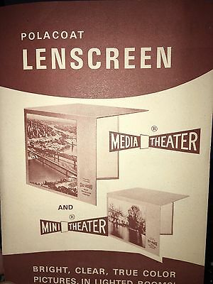 Polacoat Lenscreen Mini Theater for Projector MAKE OFFER