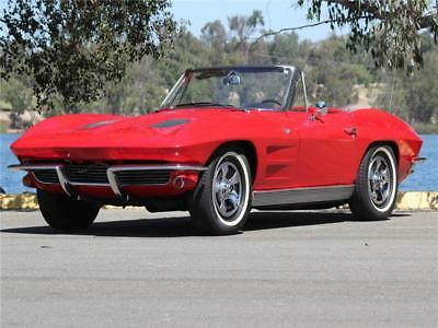 Corvette -- 1963 Chevrolet Corvette 327 V8 4 Speed with Air Conditioning Show Winning