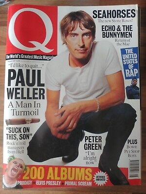 Q Magazine Issue 131 August 1997 Paul Weller, Seahorses, Echo & The Bunnymen