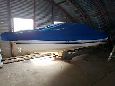 1984 Bayliner Capri 1950 Powerboat Open Bow Boat Garage / Barn Stored Low Reserv