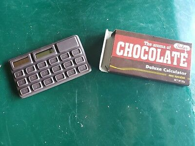 Chocolate Calculator LAST ONE Candy Bar Calculator Brand NEW Original Package