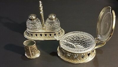 Vintage Elegant Brevettato made in  Italy salt /peper shaker ,sugar bowl