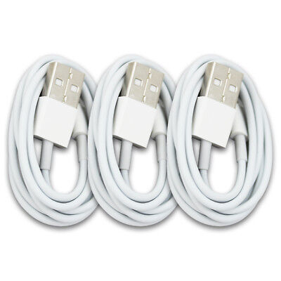 3x USB Data Sync Charge Charger Cable Cord For iPhone 8 Plus 10 X XR XS XS MAX