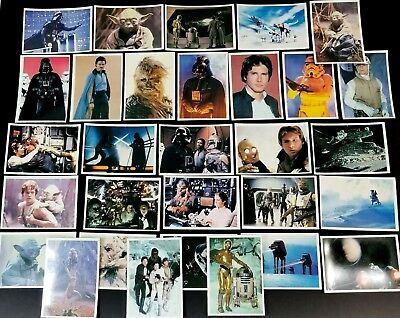 Complete set 30 1980 Topps Star Wars Empire Strikes Back GIANT 5x7 Photo Cards