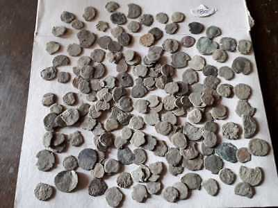 Lot Of 180 Ancient Bronze Roman Coins  Uncleaned Low Quality