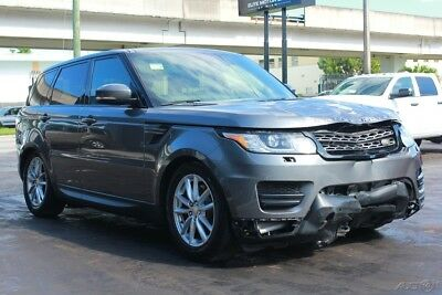 2014 Land Rover Range Rover Sport SE 4x4 4dr SUV 2014 Land Rover salvage, repairable, rebuildable , damage, fix, wreck,  cars