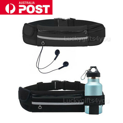 Running Hiking Sport Bum Bag Travel Money Phone Fanny Pack Waist Belt Zip Pouch