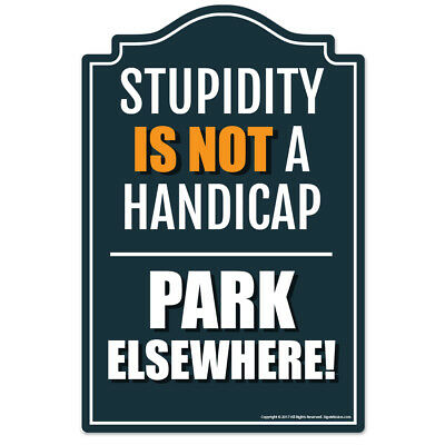 Park Elsewhere Novelty Sign