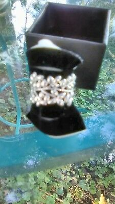 sterling silver foliage and branch ring size 7