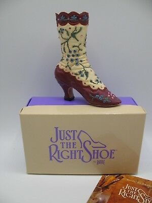 Just The Right Shoe JTRS by Raine Willittis Designs COWBOY BOOT 25502 Miniatures