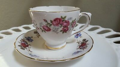 Royal Sutherland Fine Bone China Teacup and Sauce, Made in Staffordshire England