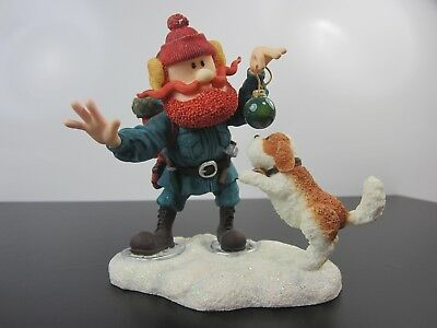 Rudolph & the Island of Misfit Toys Yukon Cornelius Dogs Enesco Figurine 557552L
