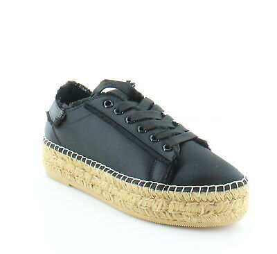 ad99fc30cca Steven by Steve Madden Pace Black Womens Shoes 6 M Fashion Sneakers MSRP  99