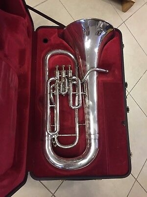 Besson Be762 Silber Euphonium Made in England