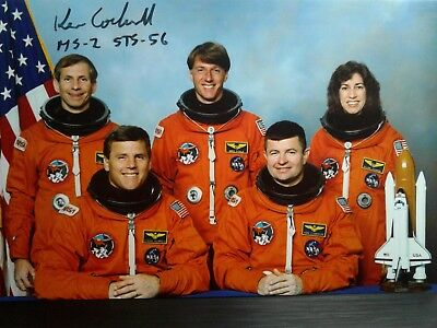 Ken Cockrell Hand Signed 4X6 Photo - Taco - NASA ASTRONAUT - COOL INSCRIPTION