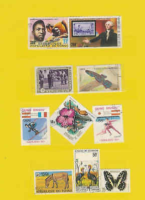 Lovely lot of African States stamps Good Cat Val  A4