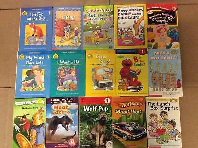 Lot of 60 Ready to-I Can Read-Step Reading RL Level 1 Learn Read Kid Child Books
