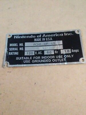 Nintendo Punch Out Arcade Tag 00792