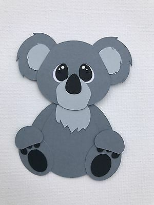 Koala - fully assembled die cut / paper piecing