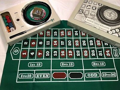 Roulette wheel and craps table topper from resteration hardware-new in box.