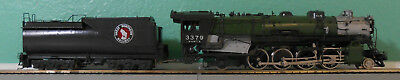 Great Northern - HO Scale - Brass - O-8 2-8-2 Open Cab