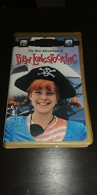 The New Adventures of Pippi Longstocking (Very Rare Clamshell VHS)