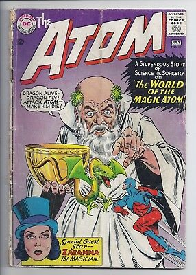 ATOM #19, #31, #36, #39 and #40 Reader Group 5 issues from 1965-1969