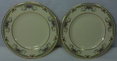 ROYAL DOULTON china JULIET H5077 pattern Bread Plate - Set of Two (2) - 6-1/2""