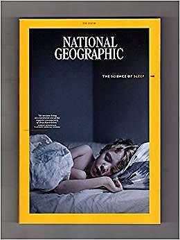 National Geographic Magazine Issue August 2018 - Sleep SCENSE OF SLUMBER (NEW)