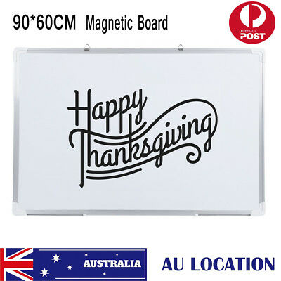Magnetic Whiteboard Portable Aluminum Frame Office School Home Office Drawing