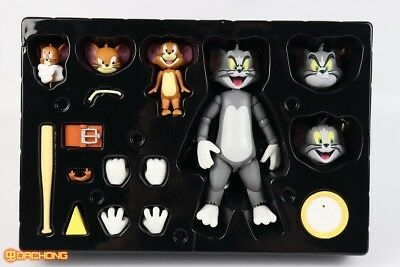 Cartoon Tom and Jerry Action Figure PVC Model Cat & Mouse Flexible New In Stock