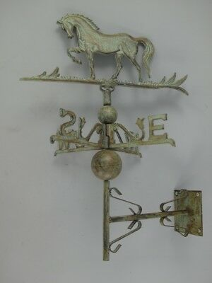 Weather Vane Horse Wall Mounting Coloured Wetterfähnchen Wind Vane