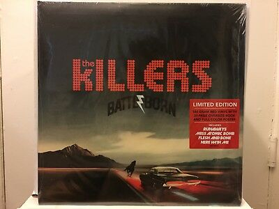 The Killers Battle Born LP (180g Red Vinyl) - BRAND NEW SEALED (First Press)