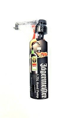 Jagermeister Hand Pump For 1.75 Liter Jagermeister Bottle...new!!!
