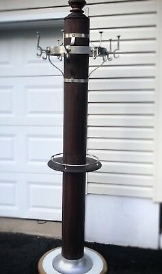 Antique Barber Shop Coat Rack