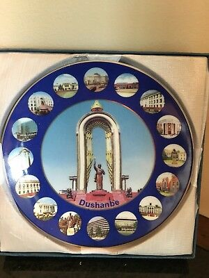 Dushanbe Collectible Plate