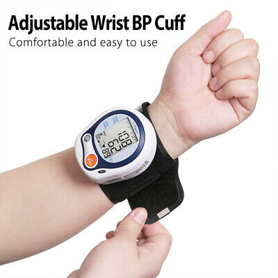 LotFancy Wrist High Blood Pressure Monitor BP Cuff Machine Gauge Meter Tester