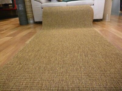Clearance Ready to go Hall Runners from end of Rolls Sisal Look Indoor Outdoor R