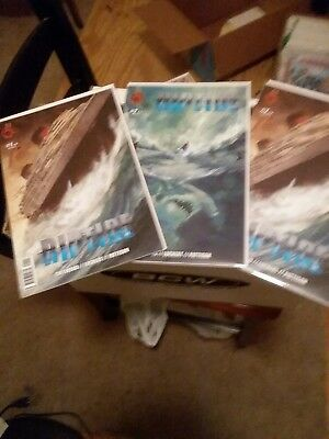 3x Riptide #1 #2 Red 5 Comics Low Print Run, Hard to Find 1 NM 1 VF Reader 2018
