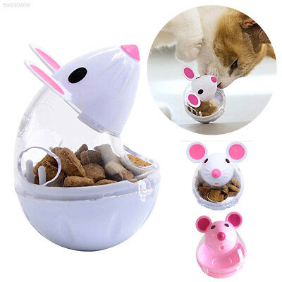 BC8E Food Dispenser Cat Tumbler Toy Funny 2 Color 5*7cm Training Gift Food Ball