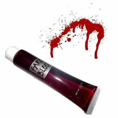 Fake Blood 28g Halloween Vampire Costume Gothic Zombie Dress Make Up Dracula