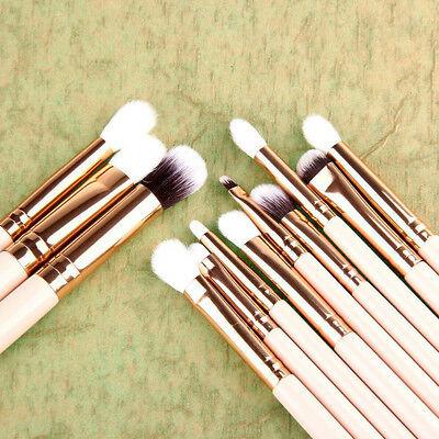 12x Soft Eyeshadow Makeup Brushes Set Pro Eye Shadow Blending Make Up Brushes CL