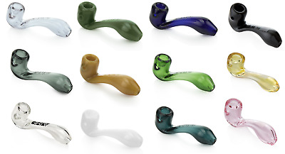 "New1 Grav Labs 4"" Sherlock Spoon Hand Pipe1, Free Shipping Black Aqua Blue"